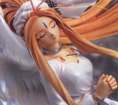 File:Oh My Goddess - Belldandy in 3D Close-Up.png
