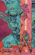 The Legend of Zelda - Ganon (Ganondorf) as he appears in the first Legend of Zelda game when fighting Link