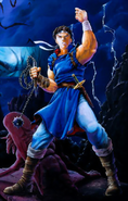 Castlevania - Richter Belmont as seen in Rondo of Blood and Dracula X