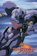 Turrican - Bren McGuire as he appears in the Japanese version
