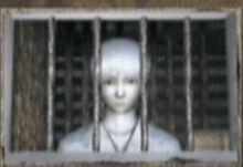 Trapped boy