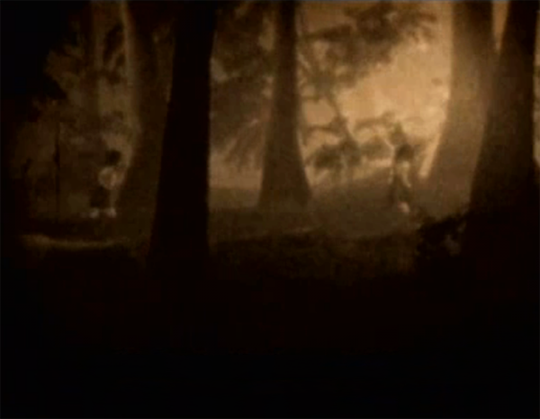 File:Young Mio and Mayu in forest.png