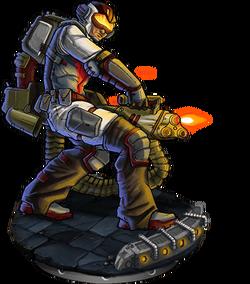 Crdnl Chaingunner v2 Figure
