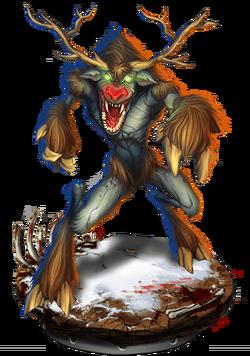 Mutant Paindeer Figure