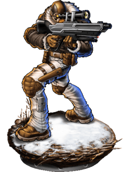 Snow Scout v2 Figure