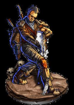 Sergeanteer v2 Figure