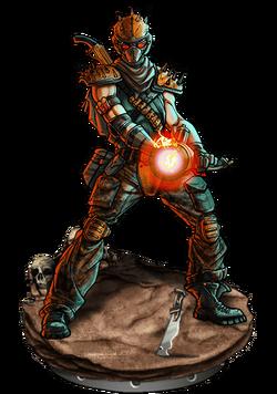 Blaster Figure