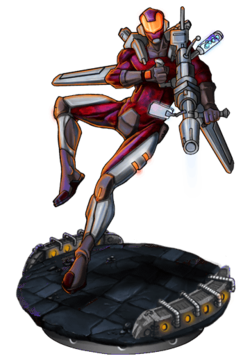 Crdnl Commando Figure