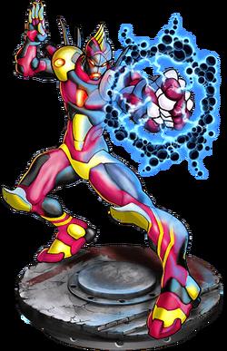 Evil Dynaman Figure