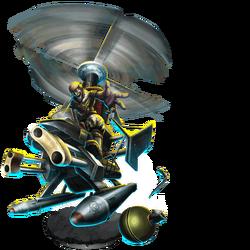 Gyro Wrecker Figure