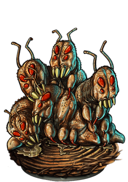 Fug Bug Mite Figure
