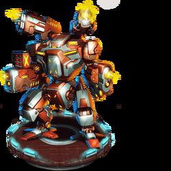 Cannonback Battlemaster Figure