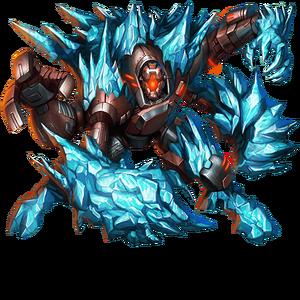 Frozen Golem v2 Boss