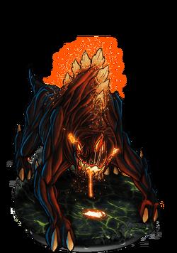 Devil Dog Figure