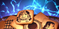 Alternate Current-Style Lightning Cookies