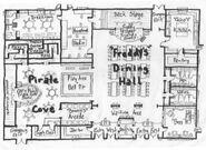 Freddy Fazbear's Pizza map