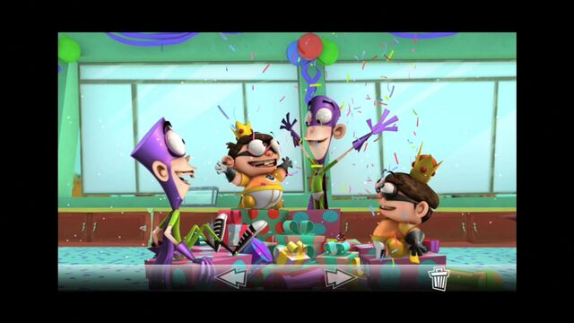 File:Photo of Fanboy and Chum Chum coming out of presents s2e5a.jpg