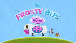 The Frosty Bus title card