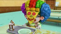 Chum Chum with pizza on face s2e18a