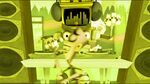 Fanboy moonwalking with Dollarnator screaming - yellow s2e18b