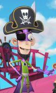 Fanboy in a Pirate Costume