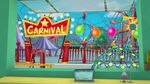 A carnival next to the school