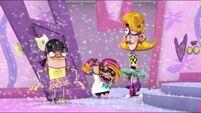 Chum Chum (as Chumbelina) releases glitter