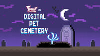 Digital Pet Cemetery title card