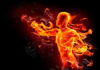 Flaming Man
