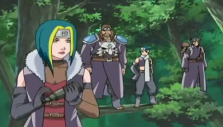 Image - Hoki and his men after kidnapping Matsuri.jpg ...