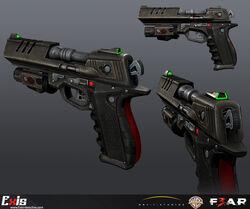 Exis handgun