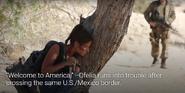 Ofelia at the border