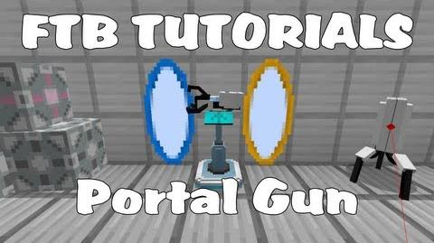 Feed The Beast Tutorials - Default Portal Gun