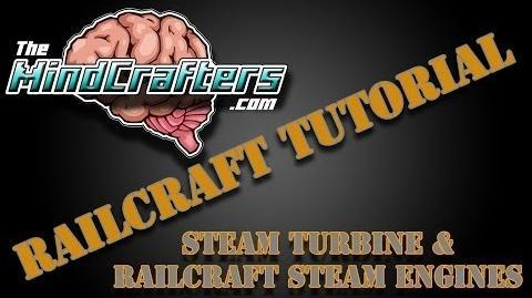 Railcraft Tutorial - Steam Turbine & Railcraft Steam Engines-0
