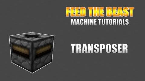 Feed The Beast Machine Tutorials Transposer