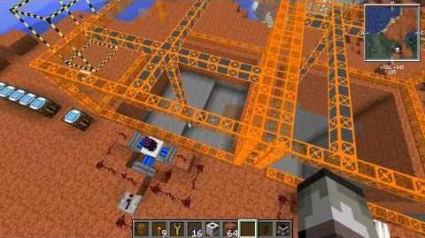 Minecraft Buildcraft Quarry tutorial and powering it!
