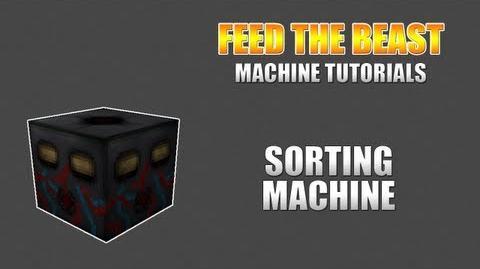 Feed The Beast Machine Tutorials Sorting Machine