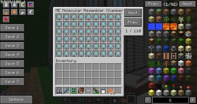 ME Assembler Chamber GUI