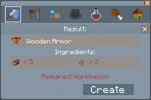 Wooden Armor