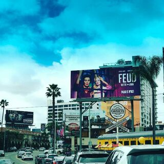 Billboard in Hollywood