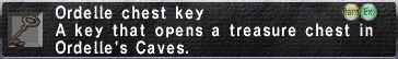 Ordelle Chest Key