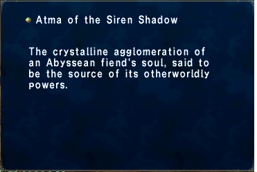 Atma of the Siren Shadow