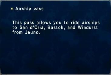 Airship Pass