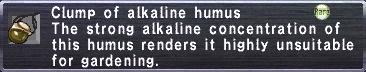 Alkaline Humus