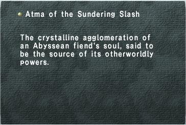 Atma of the Sundering Slash