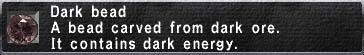 Dark Bead