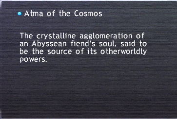 Atma of the Cosmos