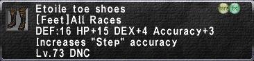 Etoile toe shoes