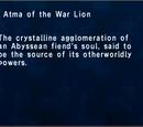 Atma of the War Lion