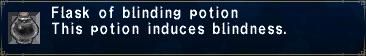 Blinding potion